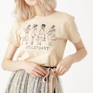 JILLSTUART - ジルスチュアート♡Daichi Miuraコラボ アートTシャツ ベージュ♡