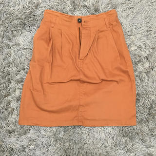 エムズエキサイト(EMSEXCITE)のemsexite スカート オレンジ(ミニスカート)