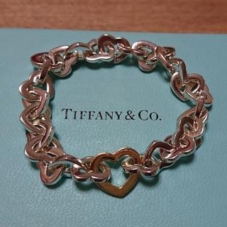 Tiffany & Co. - ティファニー ハート ブレスレット 925 750 K18