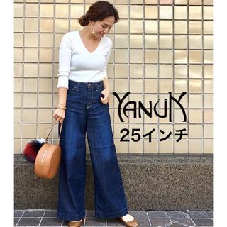 YANUK - YANUK ヤヌーク ワイドパンツ LYDIA 25 ★定価26400円