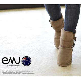 エミュー(EMU)のエミュー emu パディントン ロー シープスキン ブーツ ムートンブーツ (ブーツ)