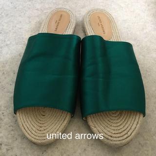 UNITED ARROWS - 値下げ United Arrows tokyo  サンダル  38