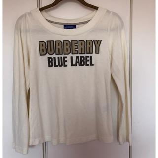 バーバリーブルーレーベル(BURBERRY BLUE LABEL)のバーバリーブルーレーベル ロゴ トレーナー トップス カットソー(カットソー(長袖/七分))