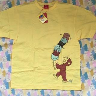 オジコ メンズTシャツ Mサイズ 新品タグつき おさるのジョージ ojico