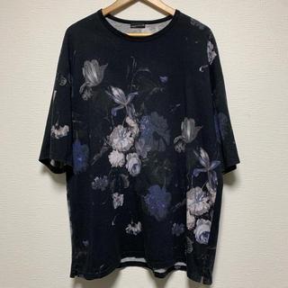 LAD MUSICIAN - 18ss LAD MUSICIAN 花柄スーパービッグTシャツ