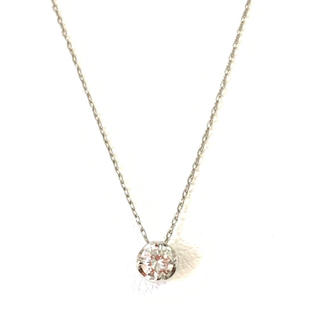 4℃ - 4°C ダイヤモンド ネックレス ペンダント pt850 プラチナ 一粒