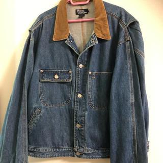ポロラルフローレン(POLO RALPH LAUREN)の美品 ポロ デニムジャケット Gジャン ラルフローレン XL(Gジャン/デニムジャケット)