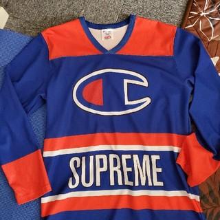 Supreme - 最安値Supreme Champion ホッケーシャツ / シュプリーム14ss