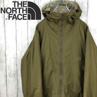 THE NORTH FACE - 【激レア】【美品】【ノースフェイス 】コンパクトジャケット☆S(M相当)☆カーキ