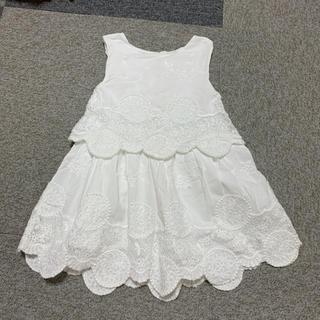 ザラ zara 女の子 ワンピース 刺繍風プリンセススカート 110cm