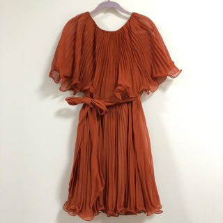 スリーワンフィリップリム(3.1 Phillip Lim)の3.1 phillip lim★オレンジ ドレス(ひざ丈ワンピース)