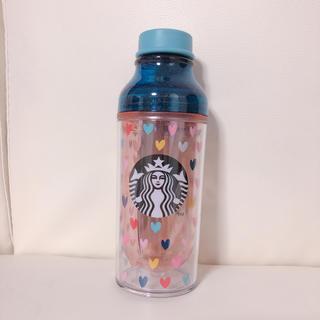 Starbucks Coffee - 新品 未使用 スタバ バレンタイン カラフルハート スターバックス タンブラー