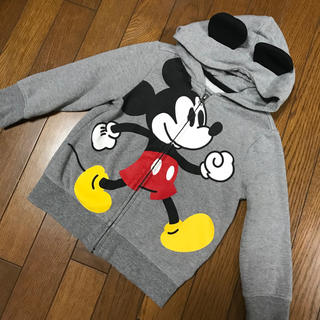Old Navy - OLD NAVY 100size mickeyフード付パーカー
