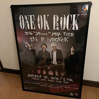 ONE OK ROCK - ONE OK ROCKサイン入りポスター