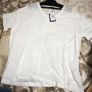 SCOT CLUB - Aga 新品未使用 麻100% Tシャツ