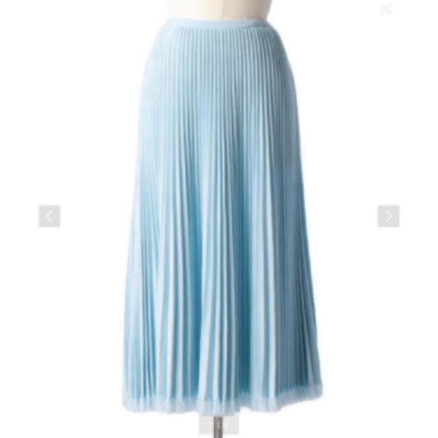 Drawer(ドゥロワー)のDrawer 18Gウールフリンジプリーツスカート レディースのスカート(ロングスカート)の商品写真