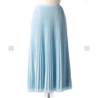 Drawer - Drawer 18Gウールフリンジプリーツスカート