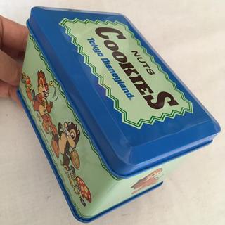 チップアンドデール(チップ&デール)のチップとデール クッキー缶 レトロ 【配送料込】(小物入れ)