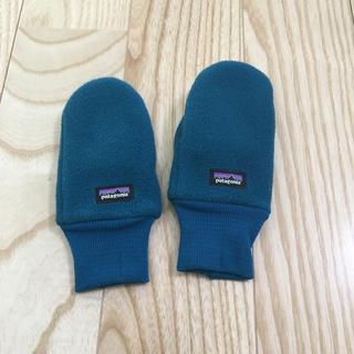 patagonia - ◆patagonia ◆ミトン 手袋 ブルー