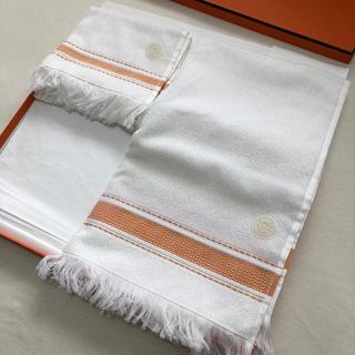 エルメス(Hermes)のエルメス ハンドタオル・フェイスタオル セット(タオル/バス用品)