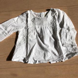 ZARA KIDS - zaramini スモッキングブラウス 刺繍