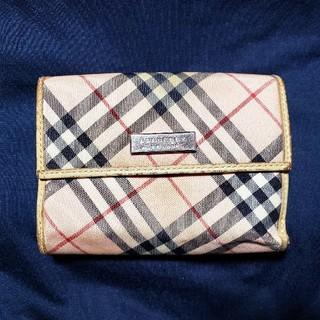 バーバリーブルーレーベル(BURBERRY BLUE LABEL)のBURBERRY BLUE LABEL 二つ折り財布(財布)