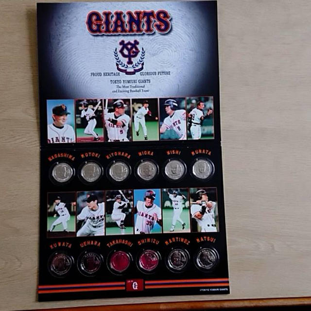 読売ジャイアンツ(ヨミウリジャイアンツ)のジャイアンツ 記念品 スポーツ/アウトドアの野球(記念品/関連グッズ)の商品写真