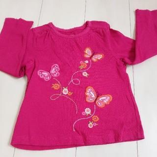 ジンボリー(GYMBOREE)のGYMBOREE 刺繍ロンティー(Tシャツ/カットソー)