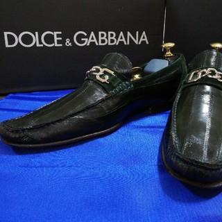 ドルチェアンドガッバーナ(DOLCE&GABBANA)のローファー(ドルチェ&ガッバーナ26㎝)(ドレス/ビジネス)