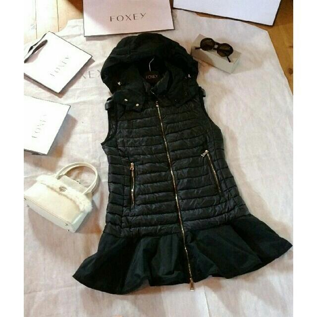MONCLER(モンクレール)の国内正規品✨激レア モンクレール ベスト ブラック dorade gilet レディースのジャケット/アウター(ダウンコート)の商品写真