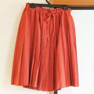 ページボーイ(PAGEBOY)のプリーツスカート(ひざ丈スカート)