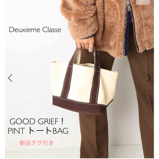 DEUXIEME CLASSE - 【新品タグ付】Deuxieme Classe GOOD GRIEF トートBAG