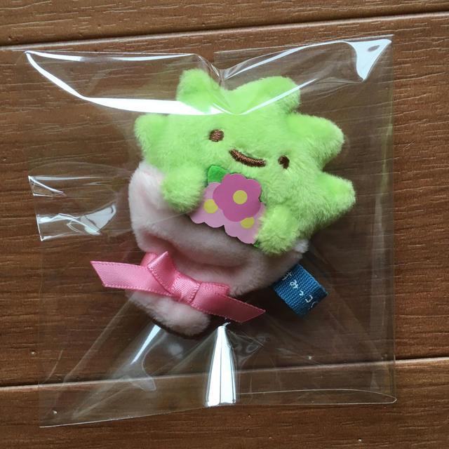 サンエックス(サンエックス)のレア☆すみっコぐらし ブーケになりたいざっそう てのりぬいぐるみ エンタメ/ホビーのおもちゃ/ぬいぐるみ(キャラクターグッズ)の商品写真