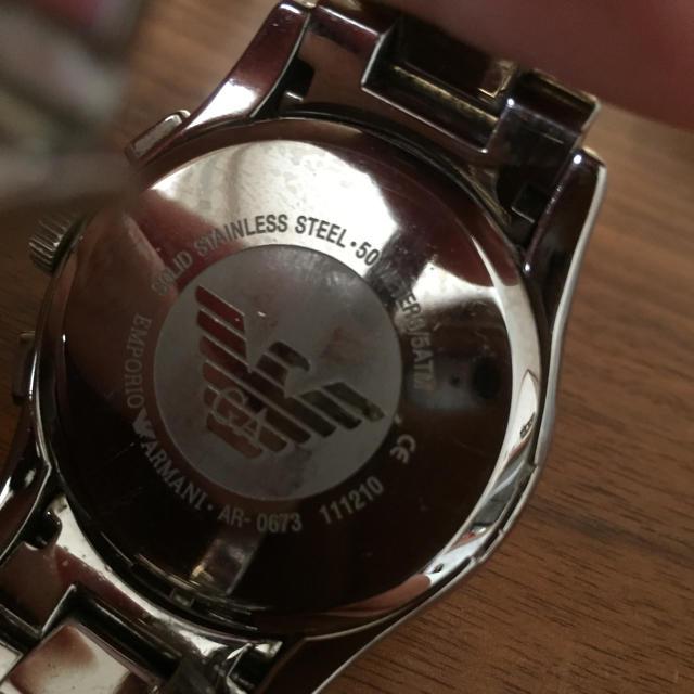 Emporio Armani(エンポリオアルマーニ)のEMPORIO ARMANI やっさん様専用です! メンズの時計(腕時計(アナログ))の商品写真