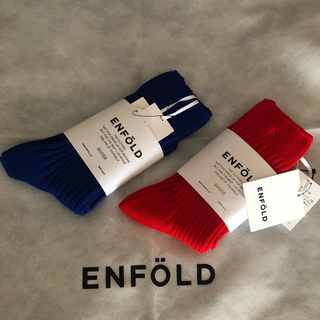 ENFOLD - 新品未使用 エンフォルド  ソックス 2足セット