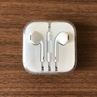 アイフォーン(iPhone)のiPhone純正イヤホン(ヘッドフォン/イヤフォン)