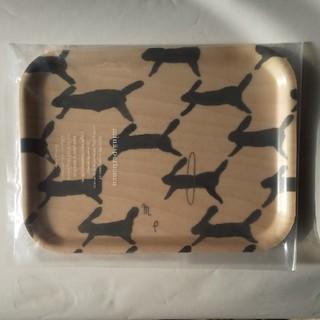 ミナペルホネン つづく展 木製トレイ runrunrun