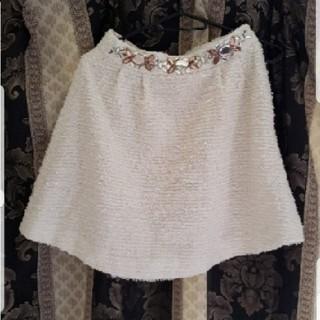 レディー(Rady)のrady ウエストビジューツイードスカート(ミニスカート)
