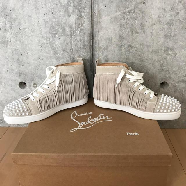 Christian Louboutin(クリスチャンルブタン)のクリスチャン ルブタン メンズ ハイカットスニーカー メンズの靴/シューズ(スニーカー)の商品写真