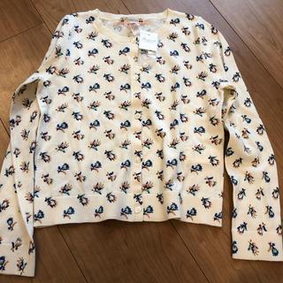 Bonpoint - ボンポワン  カーディガン  花柄 リバティ 刺繍 8a