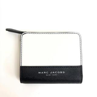 MARC JACOBS - MARCJACOBS マークジェイコブス 財布 M0014235 黒x白
