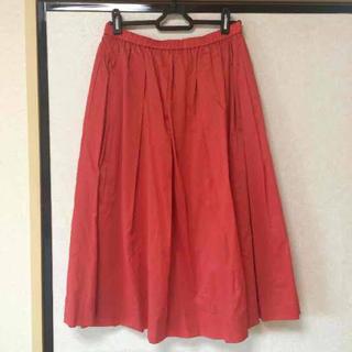 ユニクロ(UNIQLO)のユニクロ コットンミディスカート(ロングスカート)