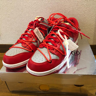 OFF-WHITE - NIKE off white dunk 28cm