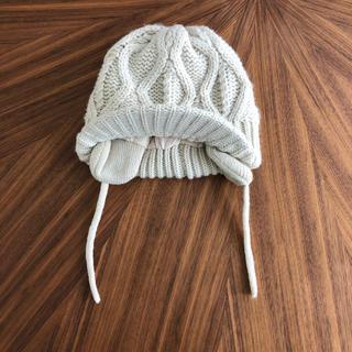 ザラキッズ(ZARA KIDS)のzara baby つばつきニット帽(帽子)
