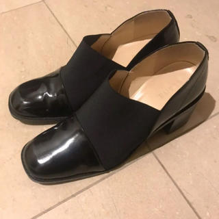 Maison Martin Margiela - CLANE  WIDE GORE FLAT SHOES
