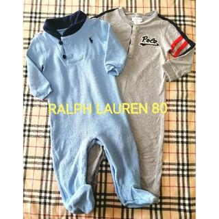 Ralph Lauren - RALPH LAURENラルフローレン◆カバーオール2点セット◆80センチ12m