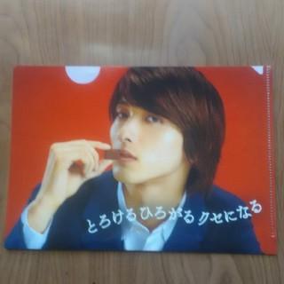モリナガセイカ(森永製菓)の横浜流星 オリジナルクリアファイル A5(アイドルグッズ)