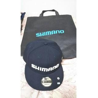 ニトン様専用 釣りフェスティバル横浜限定シマノ ニューエラ コラボキャップ(ウエア)