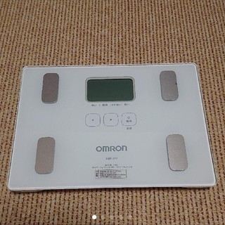 オムロン(OMRON)のOMRON 体重体組成計 HBF-212 カラダスキャン(体重計/体脂肪計)