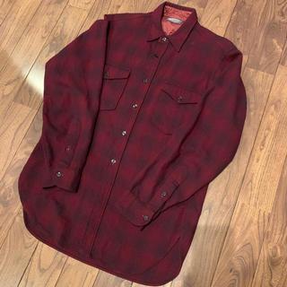 ペンドルトン(PENDLETON)の50s PENDLETON ペンドルトン ウールシャツ vintage (シャツ)